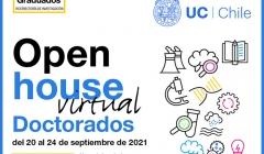 Conoce nuestros doctorados en la Open House virtual de Doctorados UC 2021