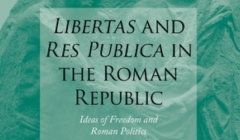 "Profesora Catalina Balmaceda edita nuevo libro ""Libertas and Res Publica in the Roman Republic"""